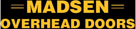 Madsen Overhead Doors Logo