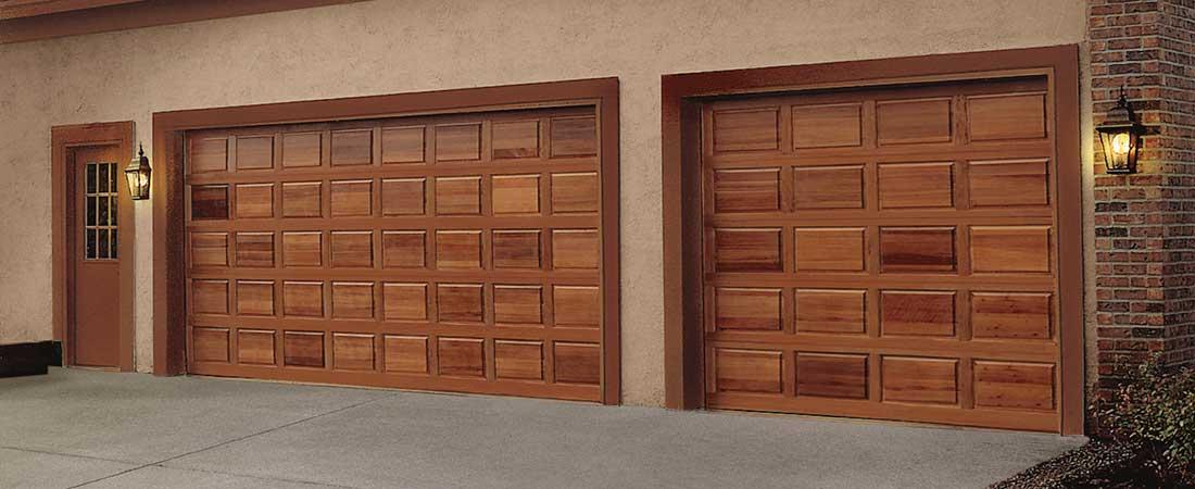 Classic Wood Collection Madsen Overhead Doors